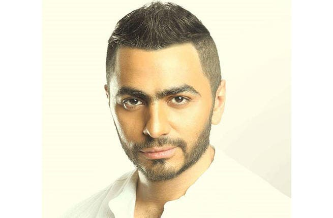 Busy bee Tamer Hosny has concerts, a film and a TV drama to prepare for this year! (Image: Facebook)