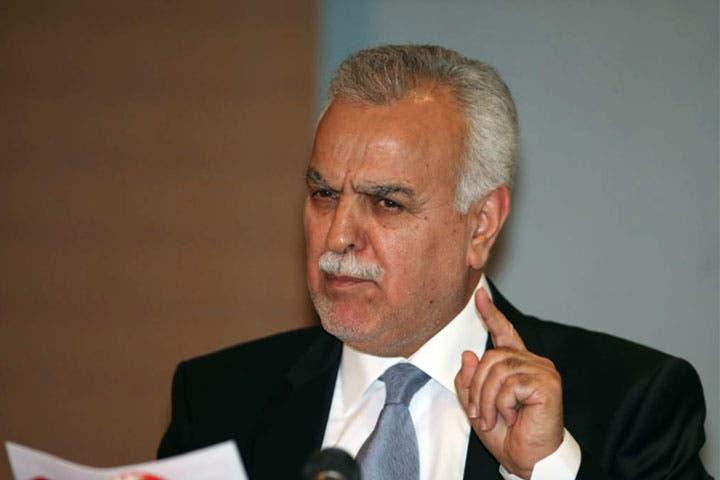 Iraq's fugitive Sunni Vice President Tareq al-Hashemi.