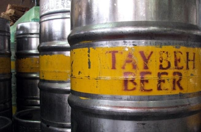 Taybeh is the beer taking on the world's markets (picture courtesy of Electronic Intifada).