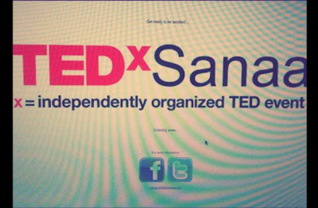 Yemen's TEDxSanaa conference hopes to attract a sea of talents in diverse fields