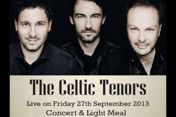 The Celtic Tenors will be performing in Bahrain this month. (Image: Facebook)