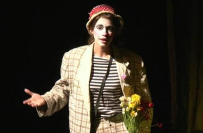 'The challenge was to be funny without trying,' says Koechlin of her role in Hamlet — The Clown Prince.