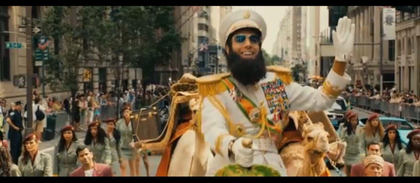 'The Dictator' Movie Still.