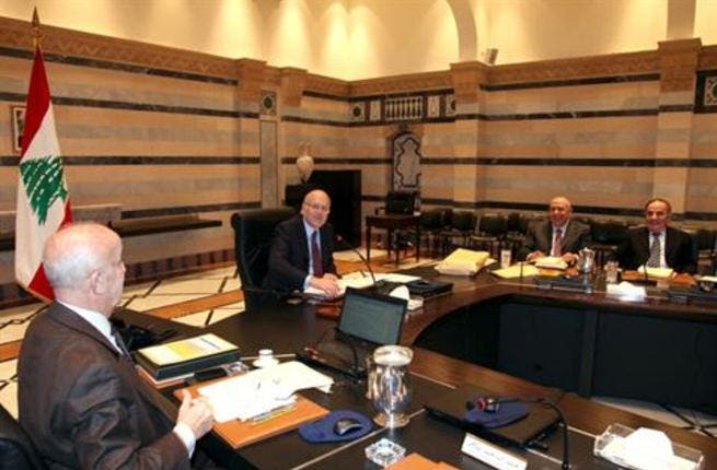 The Lebanese Cabinet