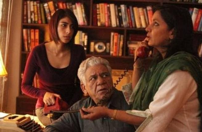 A still from the film 'The Reluctant Fundamentalist'