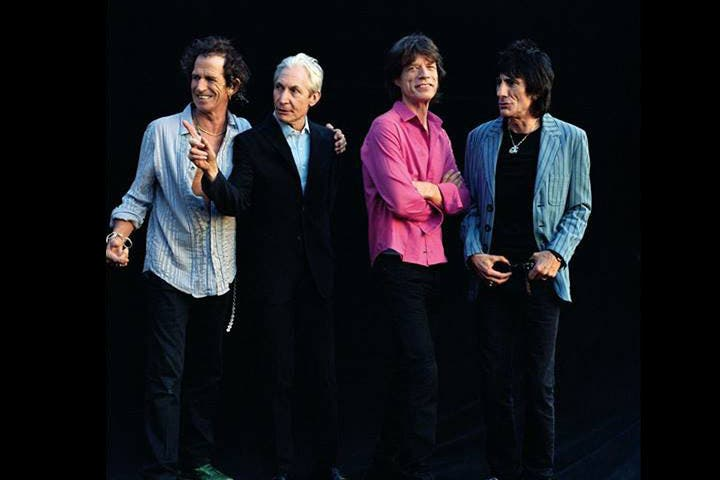 If it's The Rolling Stones you want, it's Rhe Rolling Stones you'll break the bank for. (Image: Facebook)