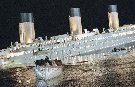 The restaurant could be inspired by The Titanic.