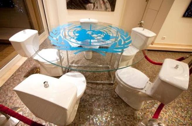 Thaer Maarouf's installation: 'Veto'