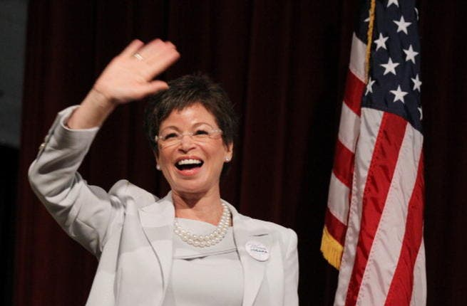 Valerie Jarrett is reportedly leading secret talks with Iran