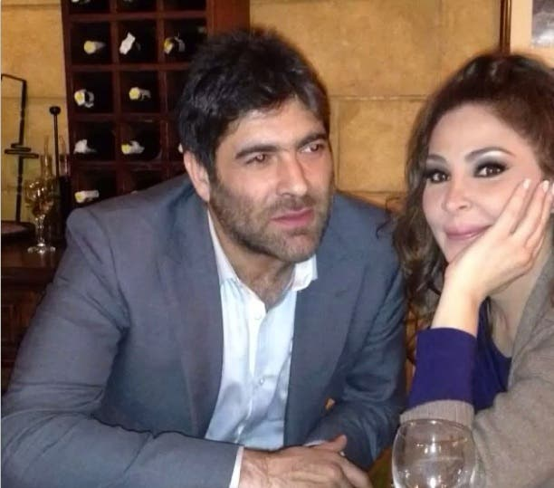 Wael Kfoury snuggles up next to X-Factor co-star Elissa as they prepare for