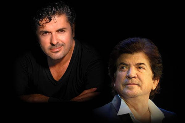 Walid Tawfiq (right) has begun a war of words with Ragheb Alama (left) by not saying anything at all.
