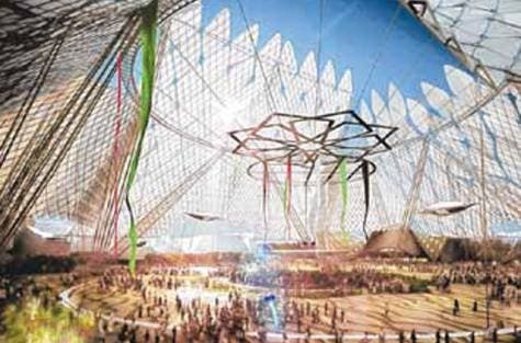The case for Dubai received a significant boost last week with the New York Times suggesting that the emirate was the frontrunner — and deservedly so. (Pictured: An artist impression of the site where the expo will be held).
