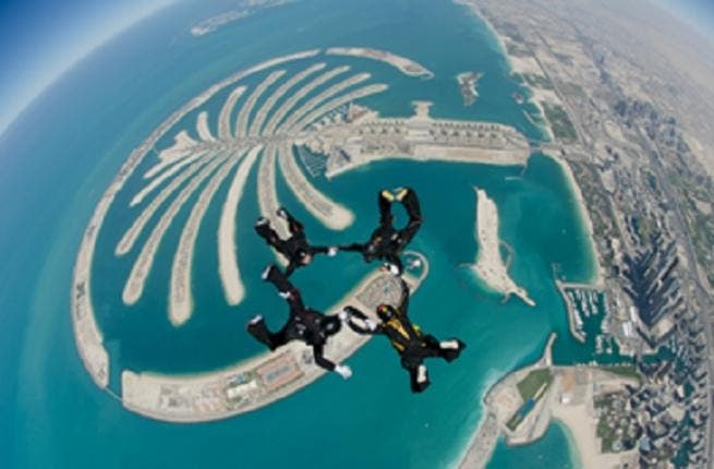See the world's best skydiving fanatics as they hope to land top spot at the World Parachute Championships in Dubai (Photo Courtesy: World Parachute Championships in Dubai 2012 )