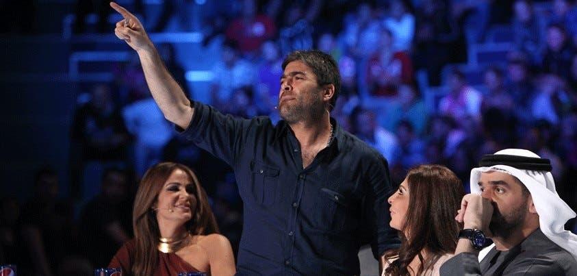 Wael Kfoury charms the crowd.