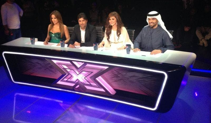 Cat fights on the judging panel on X Factor's live rounds.