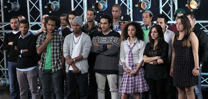 X Factor Arabia hopefuls have to knuckle down to some real work.