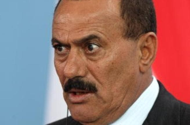 'Never wanna give you up'- Former President Ali Abduallah Saleh just doesn't know when to leave.