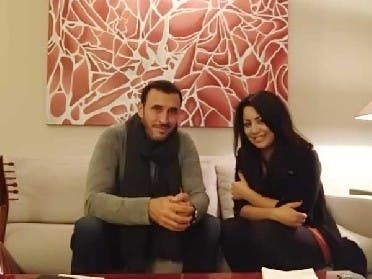 Kazem Al Saher and Yosra Mahnouch, mentor and mentee from the hit TV show The Voice, will perform together in Beirut. (Image courtesy of listenarabic.com)