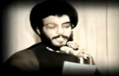 A screengrab from Nasrallah's youtube video 'My Lebanon', believed to have been made in 1988. Image via YouTube.