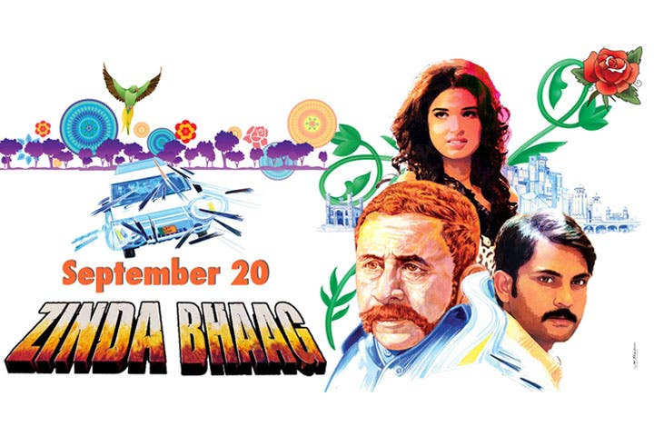 Pakistan's hopin' 'Zinda Bhaag' will bring its film industry back to life. (Image: Facebook)