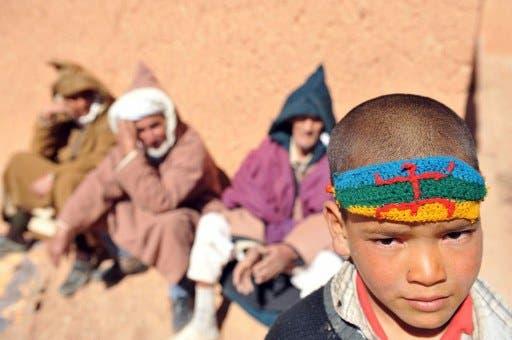 North Moroccans protest