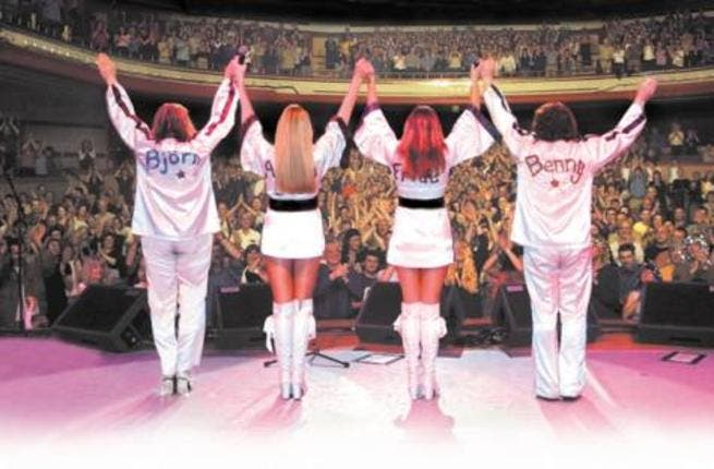 Bjorn Again is an ABBA tribute show to be held in the emirates in October.