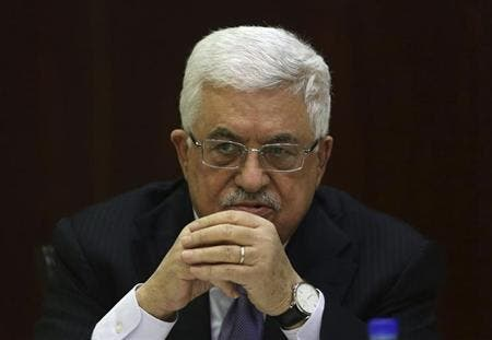 Abbas publicly expressed hope that the U.S.-led negotiations will lead to peace between Palestine and Israel. (AFP/File)