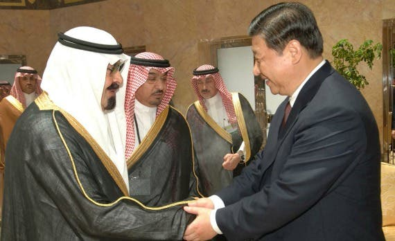 Saudi and China's trade relationship has improved dramatically thanks to the strong relationship between KSA's King Abdullah and Chinese President Xi Jinping (Reuters)