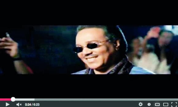 Mohammad Abdu lookin' all western in his new video! (Image: Arab News)