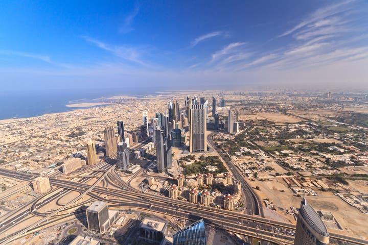 The new road between Abu Dhabi and Dubai is 62 kilometers. (Image credit: Shutterstock)