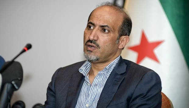 Ahmad Jarba will serve as the leader for Syria's Opposition National Coalition for the next 6 months (File Archive/AFP)
