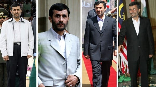 """From jackets to tailored suits, Ahmadinejad's critics had complained he could be damaging the Iran's image with """"bad fashion."""" (Courtesy: www.adinnerguest.com)"""