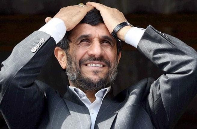 Ahmadinejad came under 'shoe attack' as he left Egypt's Al-Azhar mosque
