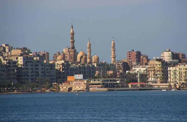 Clashes erupted in Alexandria between supporters and opponents of the constitution