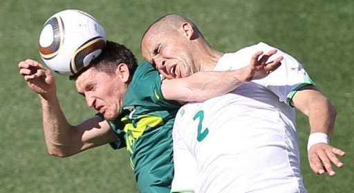 Algeria fighting in South Africa