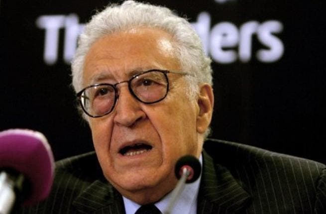 UN-Arab League envoy Lakhdar Brahimi said during a visit to Damascus that he does not believe that Assad should be the leader of the new, transitioning Syrian state, despite noting that he believes the President can contribute to its formation. (AFP/File)