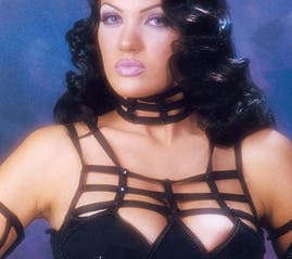 Similar images to this, showcasing her areola, of Gaddafi Junior's Lebanese wife have caused a stir in Lebanon.
