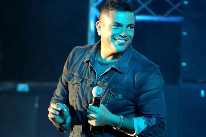 Amr Diab's walking on sunshine now that his account is cleared (Image: Facebook)