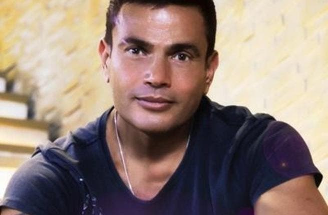 Amr Diab shared photos of his birthday party on Twitter