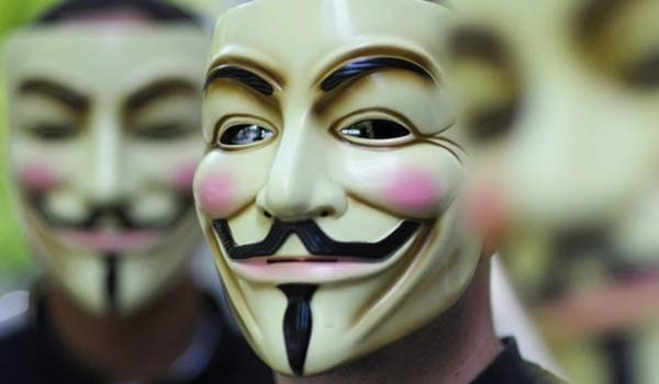 Bahrain has banned Guy Fawkes masks, in an apparent bid to further stifle opposition protests in the wealthy Gulf state (Photo: Pat Dollard)