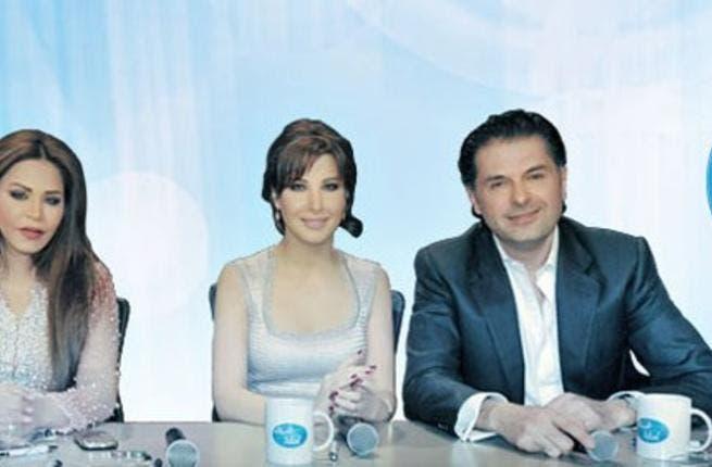 Cracks are already beginning to show on the Arab Idol 2 judging panel (Photo: Facebool / Arab Idol)