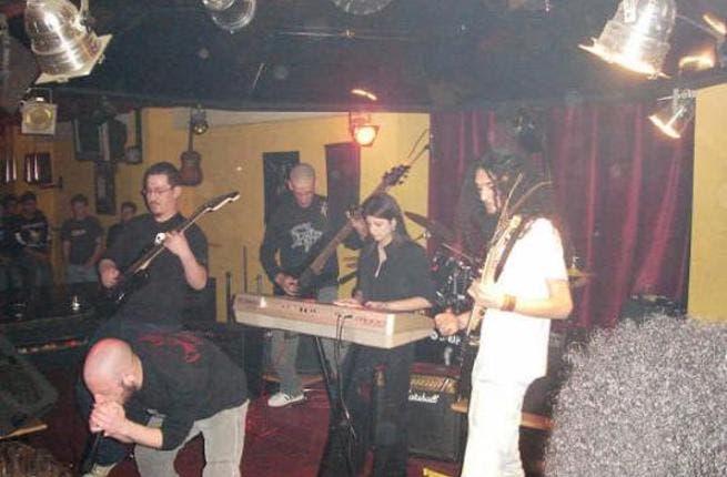 Lebanese metal band 'ArCease' (Photo: jorzine.com)