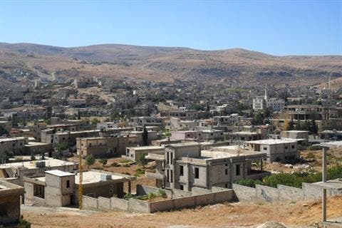 Arsal has been the frequent target of Syrian warplanes over the past year (File Archive/AFP)