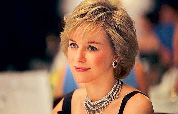 Naomi Watts as the late Princess Diana in the upcoming film 'Diana'. The film has been making waves over the portrayal of Diana's alleged affair with a Muslim Pakistani doctor. (Photo courtesy of BBC America)