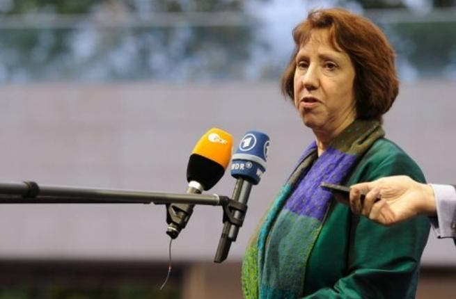 Catherine Ashton, head of EU foreign policy, has tightened sanctions on Iran
