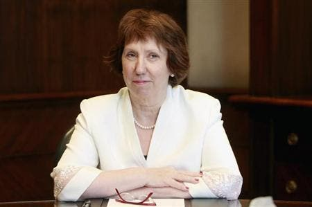 High Representative of the European Union for Foreign Affairs and Security Policy and Vice President of the Commission, Catherine Ashton. (AFP/File)