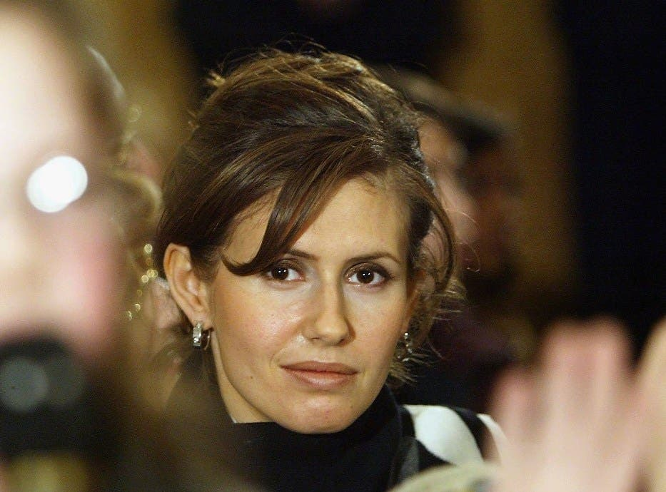 The face of a dictator if Asma Al Assad's statements are anything to go by.