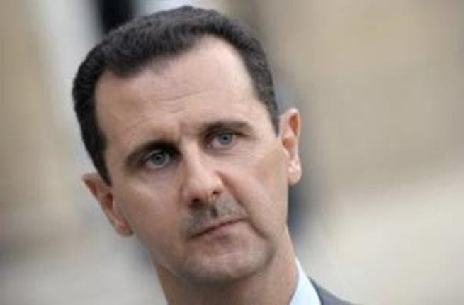 Syrian President Assad is reportedly being made stronger by the Egyptian crisis, according to the Syrian foreign minister. (AFP/File)