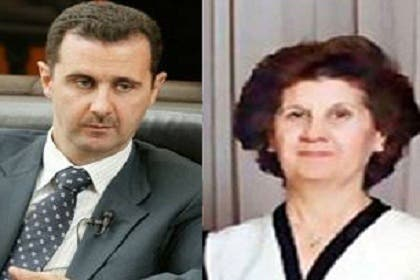 Assad's mother has reportedly fled to Dubai (Photo: Naharnet)