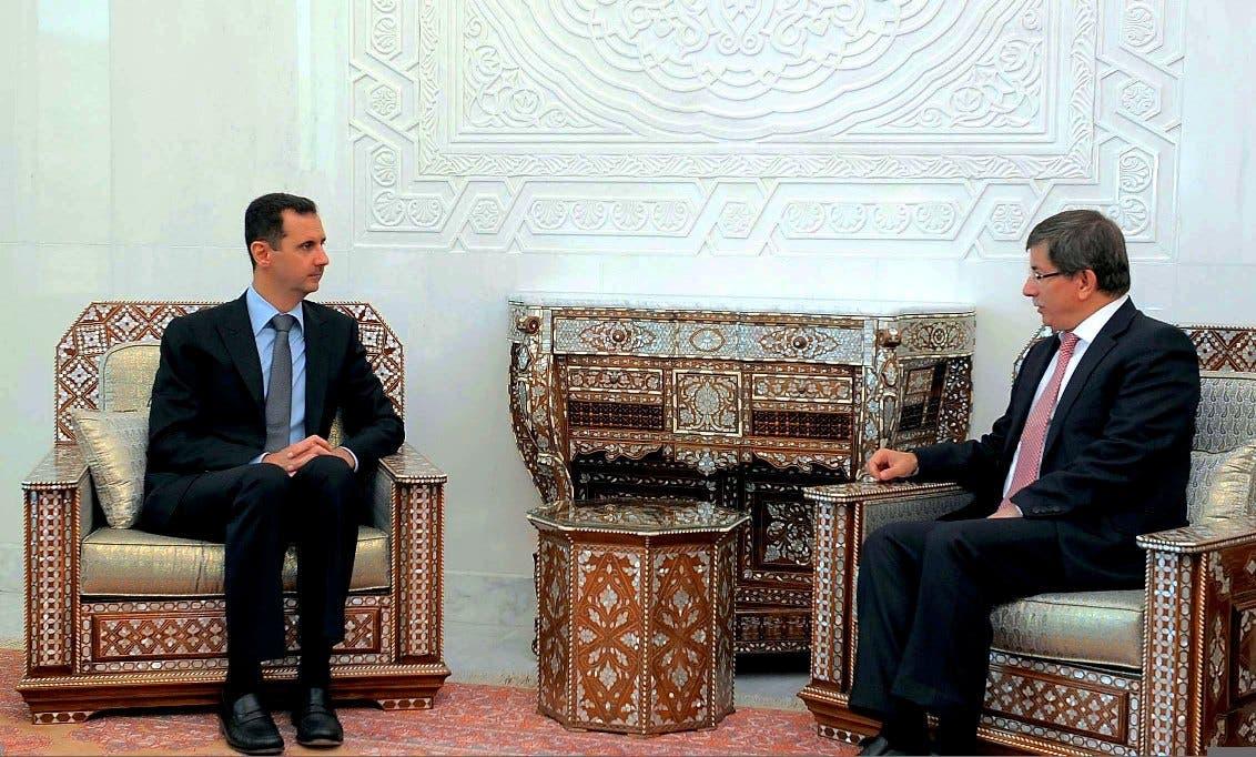 Assad and the Turkish FM